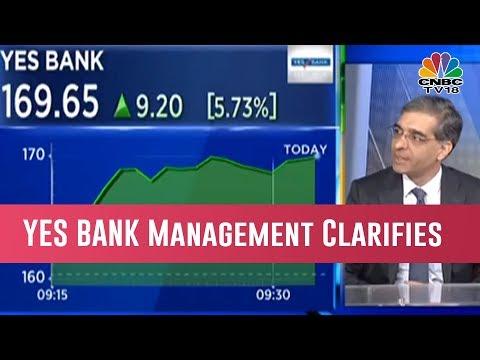 YES BANK Management Clarifies