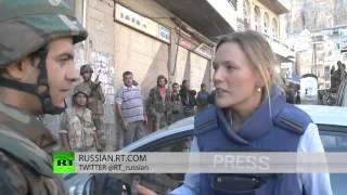 Сирия  Жестокие бои в сирийской деревне Маалюля