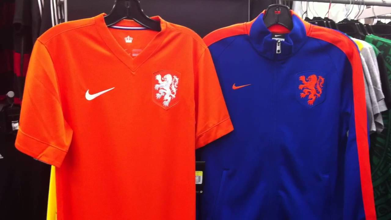 huge selection of ad0ca b9fcc Netherlands Jersey 2014 & Holland Jacket 2014 by Nike at NAS Vancouver BC