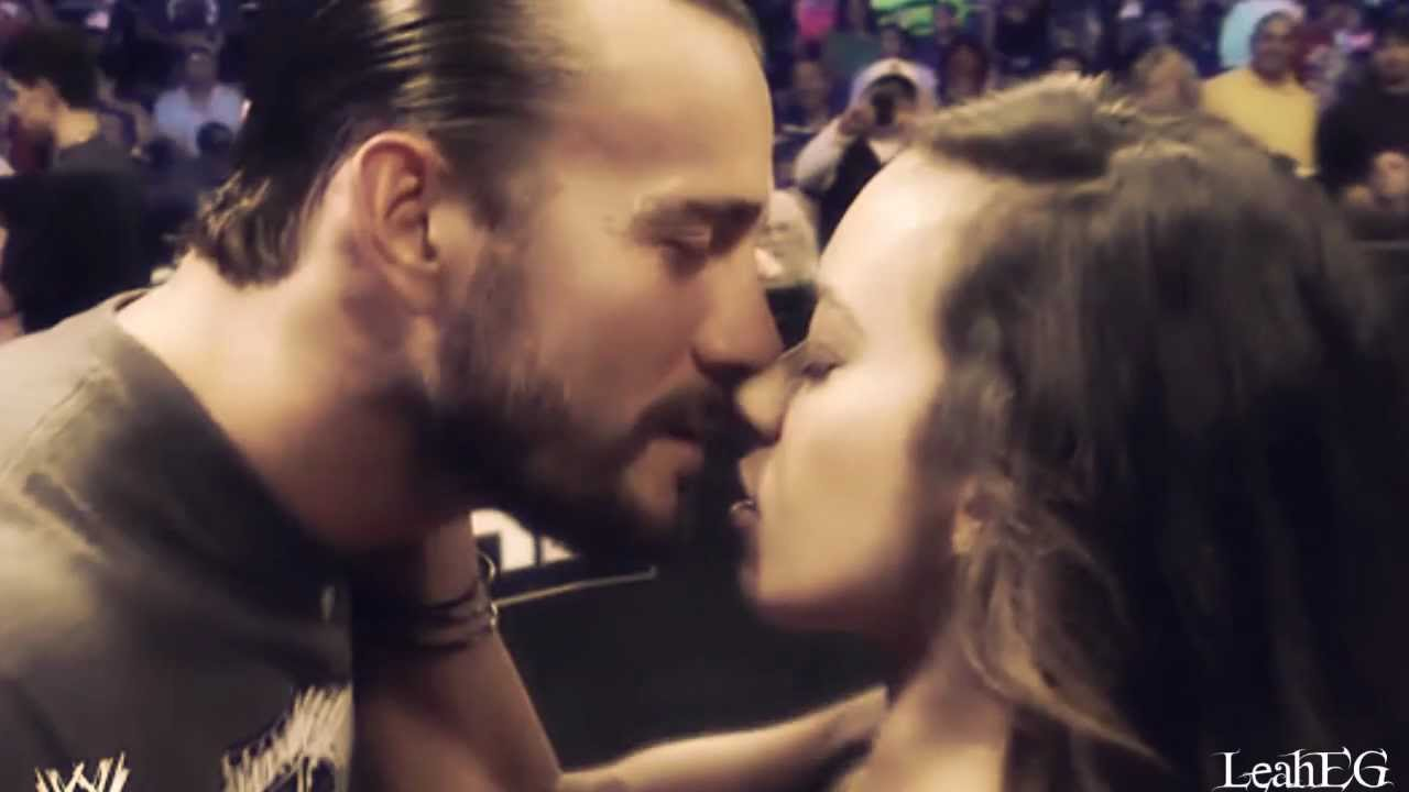 Aj and cm punk real dating