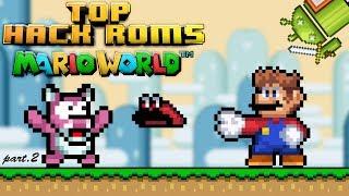 Top 3 Roms Hacks Super Mario World Snes ANDROID part 2!!