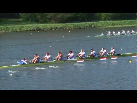 Holland8 Bosbaan NK 2012 slowmotion
