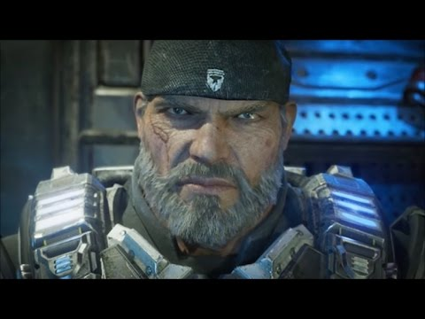 Gears Of War 4 Meeting Marcus Fenix Cutscene Youtube