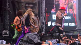Download Festival 2014: Steel Panther - Death To All But Metal