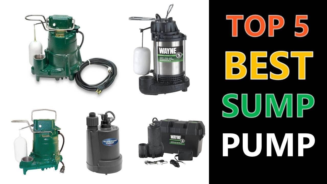 10c1d56d9220 Best Sump Pump 2019 - YouTube