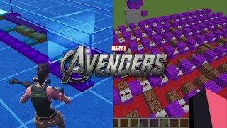 Avengers Theme - Minecraft Note Blocks VS. Fortnite Music Blocks