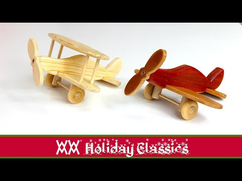 Toy Planes. Easy Woodworking Project. Free Plans!