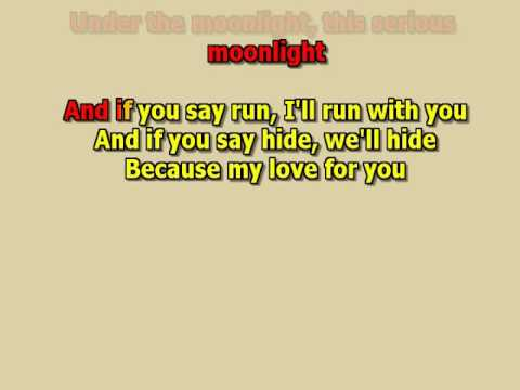 David Bowie Lets dance  best karaoke instrumental lyrics