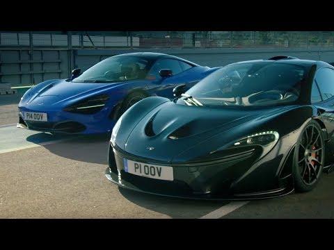 McLaren 720S vs McLaren P1 | Top Gear: Series 25 | BBC
