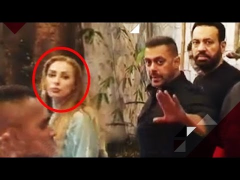 Iulia Vantur Went Out For Dinner With Salman Khan And His Family   Bollywood News - YouTube