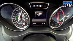 2014 Mercedes CLA 45 AMG (360hp) - 0-254 km/h acceleration (1080p)