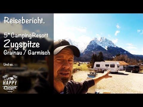 HAPPY CAMPING | 🇩🇪 Camping Resort Zugspitze Grainau / Garmisch Partenkirchen