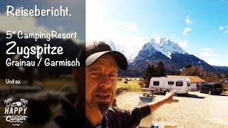 HAPPY CAMPING | 🇩🇪 Camping Resort Zugspitze Grainau / Garmisch Partenkirchen