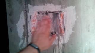 Новая проводка в 3-х комнатной квартире (Индустриальный мост #2). Электрик Киев.(, 2017-08-06T05:00:00.000Z)