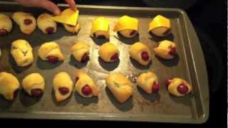 HowTo Cook / Make Pigs In A Blanket!!! Yum! Recipe!