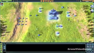 Supreme Commander Gameplay (PC HD)