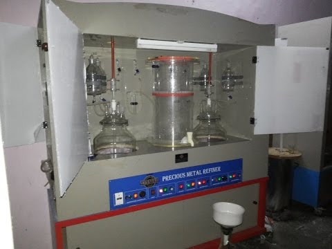 MASTER 6kg capacity Gold Refinery Machine by Machine Tool Traders