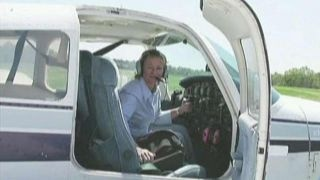 Air traffic controller guides distressed plane to safety
