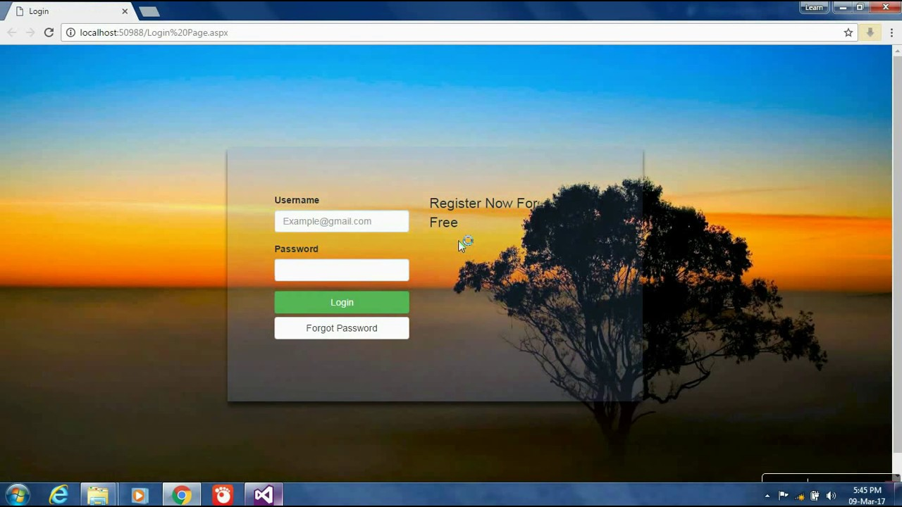 asp net login page template free download - aspx login page template images professional report