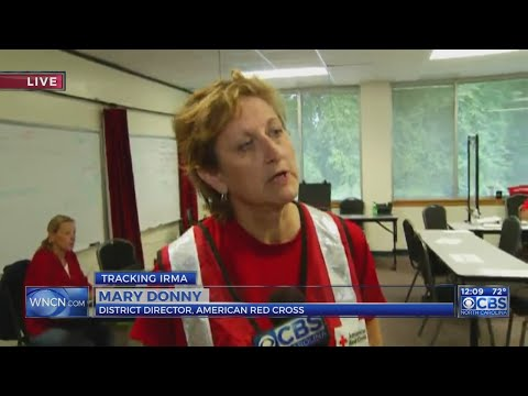 Red Cross staging supplies in NC as Irma nears