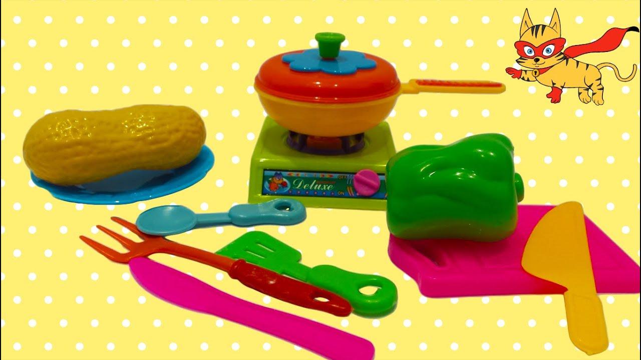 Juegos de cocina Unboxing juguetes de cocina para nios YouTube