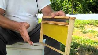 Honey Bee Mite Treater Frame - FatBeeMan