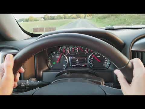 2017 Chevy Silverado 0 to 60 mph V8