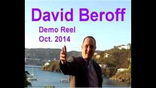 David Beroff's Demo Reel, October 2014: Clear, deep, American male voice talent