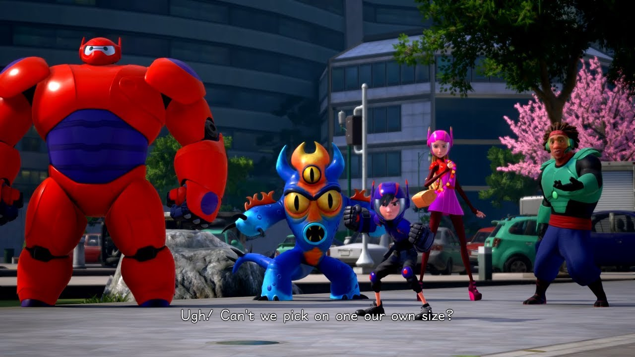 Kingdom Hearts 3 English Big Hero 6 Cutscene San Fransokyo Full Game Ps4 Youtube