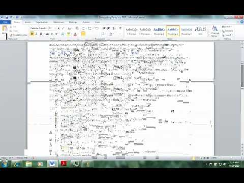 Embedding Fonts Into A PDF In Word 2010