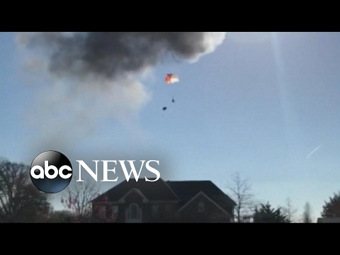 American fighter jet crashes in Maryland with live ammunition on board; no major injuries