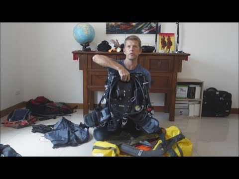 Packing The Dive Bag For Travel And Liveaboard