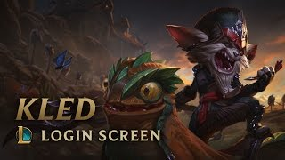 Kled, the Cantankerous Cavalier | Login Screen - League of Legends