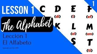 EL ALFABETO en Inglés 🔠 - The Alphabet