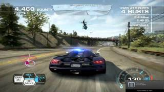 Need for Speed - Hot Pursuit ~ Cop Gameplay ~ End of the Line