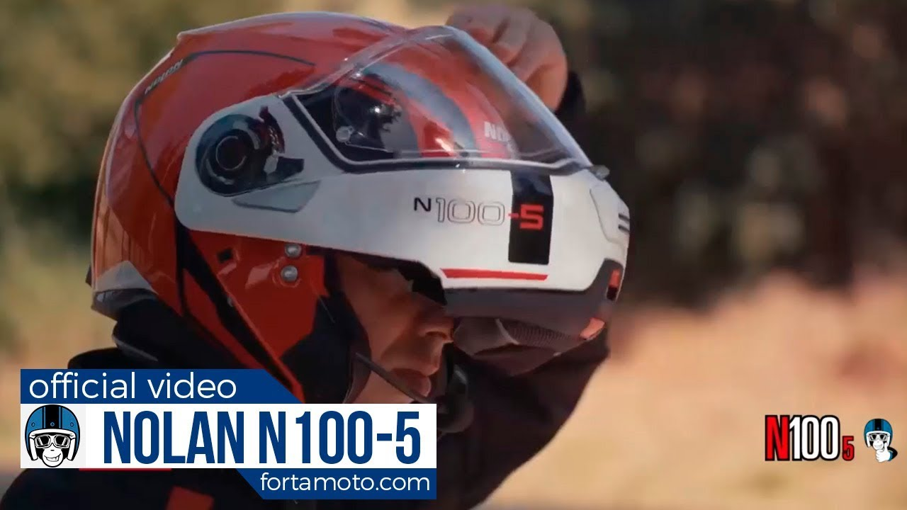 nolan n100 5 motorcycle helmet official video ita. Black Bedroom Furniture Sets. Home Design Ideas