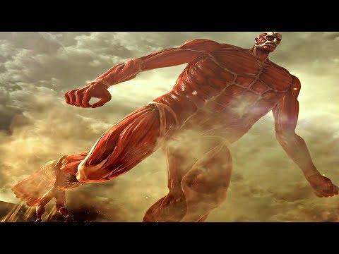 Attack On Titan 2 Final Battle - Armored U0026 Colossal Titan Final Boss Fight U0026 Ending (Season 3 End)