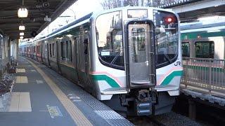 【E721系】 JR仙山線 国見駅から仙台行き発車 thumbnail