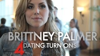 Brittney Palmer's 4 Dating Turn Ons