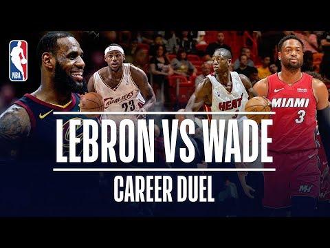 LeBron James vs Dwyane Wade | Career Duel