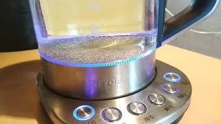 Космические технологии чайника Kitfort KT-616 на обычной даче. Видеообзор.