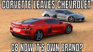 GM, No More Chevrolet? Make Corvette The BRAND! C8 Will Thank You?