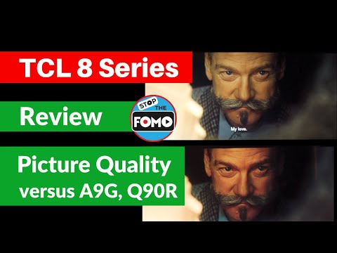 TCL 8 Series TV Review & Shootout vs the Best TVs: OLED A9G, QLED Q90R