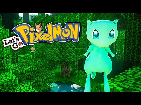 ENCONTRAMOS A MEW SHINY *INCREÍBLE* - Pixelmon LET'S GO EP.45 - MINECRAFT | HARDY