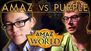 [Hearthstone] Amaz VS World - Amaz VS Purple Ep 10