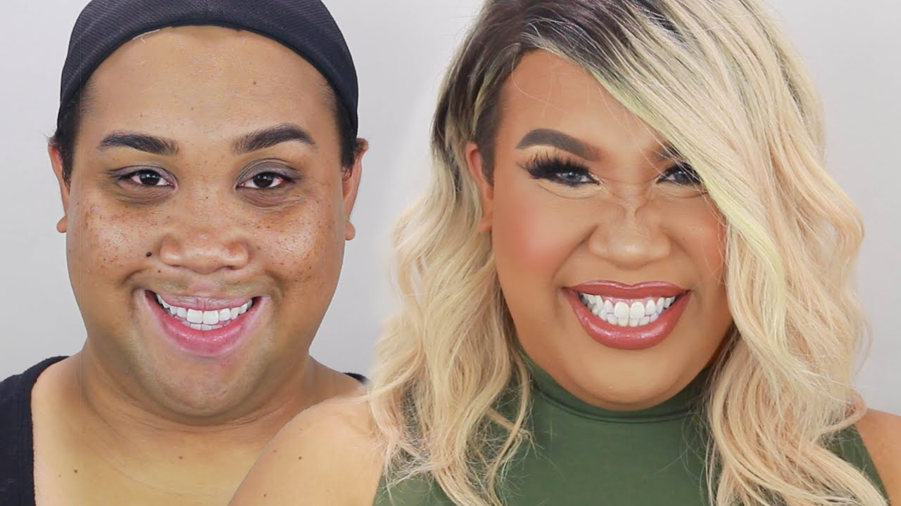 Khloe Kardashian Makeup Tutorial Patrickstarrr Youtube