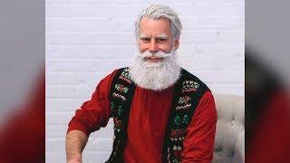 'Kinda hot' Santa melting hearts at West Edmonton Mall