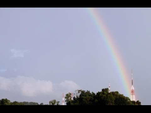 real rainbow in the sky youtube