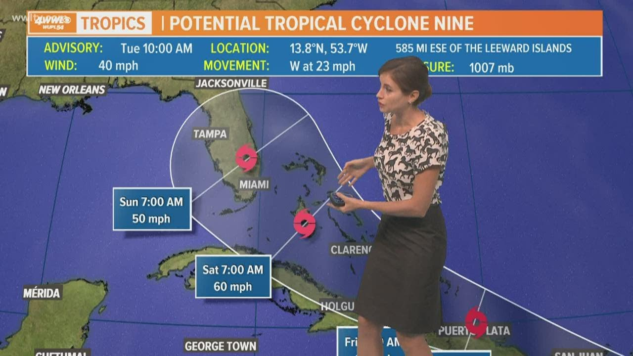Tropical Storm Isaias likely to form, could reach Florida this weekend