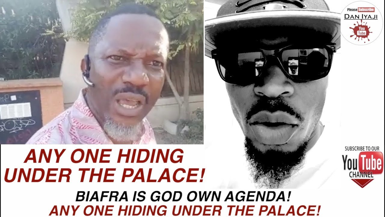 Download ANY ONE HIDING UNDER THE PALACE!, BIAFRA IS GOD OWN AGENDA!